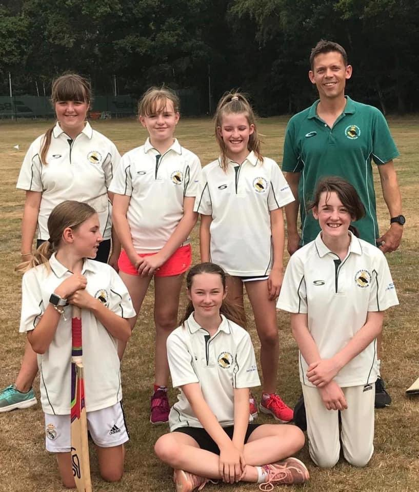 Under 13s Girls Soft Ball Team